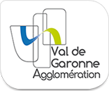 logo de la Communauté d'agglomérations Val de garonne